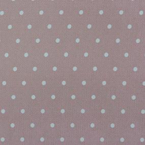 Ткань на отрез ультра софт горох цвет розовый фото