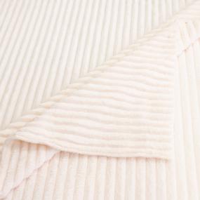 Ткань на отрез велсофт Orrizonte 300 гр/м2 200 см 002-ОT цвет молочный фото