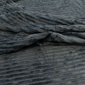 Ткань на отрез велсофт Orrizonte 300 гр/м2 200 см 006-ОT цвет серый фото