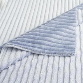 Ткань на отрез велсофт Orrizonte 300 гр/м2 200 см 007-ОT цвет голубой фото
