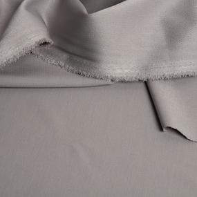 Ткань на отрез креп-костюмный цвет серый фото