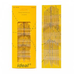 Иглы IDEAL 058/ HN-36 набор швейных игл АССОРТИ уп 50 игл (0340-0058) фото