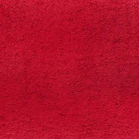 Простынь махровая цвет Бордовый 155/200 фото