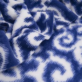 Маломеры велсофт Вензель цвет василек 1 м фото