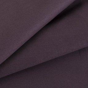 Простынь на резинке сатин цвет шоколад 140/200/20 см фото