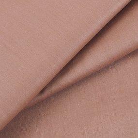 Простынь на резинке сатин цвет коричневый 140/200/20 см фото