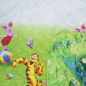 Покрывало детское ультрастеп двухстороннее Винни Пух HL132 + Том и Джерри 150/210 фото