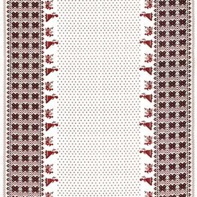Ткань на отрез полулен 150 см 4043/1 фото
