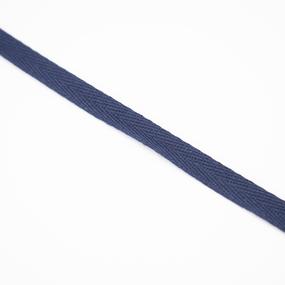 Лента киперная 10 мм хлопок 2,5г/см цвет S058 т.синий фото