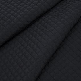 Курточная ткань на отрез цвет черый фото