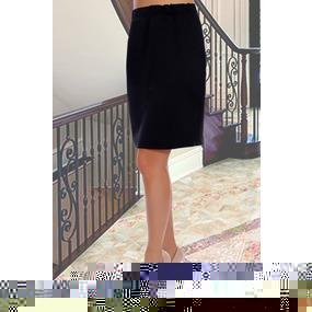 Юбка Патриция 10363 черный р 50 фото