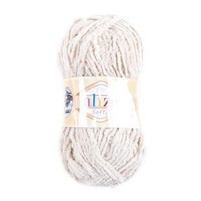 Пряжа для вязания Ализе Softy (100% микрополиэстер) 50гр/115 м цвет 310 медовый фото