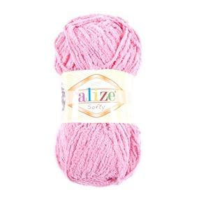 Пряжа для вязания Ализе Softy (100% микрополиэстер) 50гр/115 м цвет 265 персиковый фото