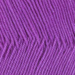 Пряжа для вязания ПЕХ Австралийский меринос 100гр/400м цвет 179 фиалка фото