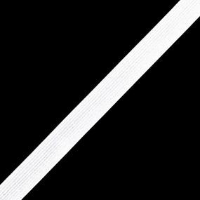 Резинка 25 мм 40 м ТВ-025 цвет белый фото