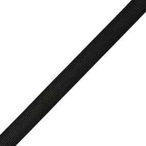 Резинка 25 мм 40 м ТВ-025 цвет черный фото