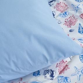 Детское постельное белье из бязи 1.5 сп 8123 Ракушки фото