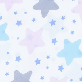 Ткань на отрез бязь плательная 150 см 1959/1 Звезды б/з фото