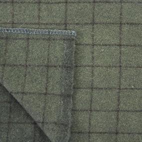 Одеяло полушерсть С-105ПЛ-ИЛШ клетка 1.5сп 420гр/м2 фото
