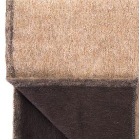 Одеяло полушерсть С-106-ИЛШ верблюд 1.5сп 600гр/м2 фото
