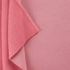 Маломеры футер 3-х нитка компакт пенье начес цвет персиковый меланж 1 м фото