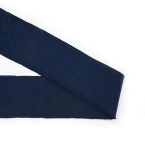 Подвяз 8*80см темно синий фото