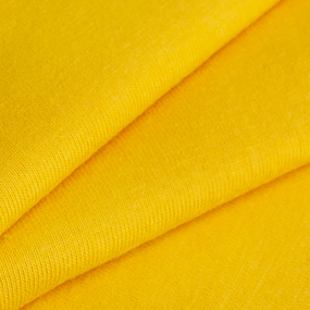 Мерный лоскут кулирка гладкокрашеная 2029 цвет желтый 0.8 м фото