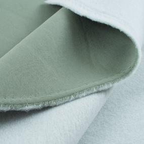 Маломеры футер 3-х нитка компакт пенье начес цвет светло-зеленый 0.6 м фото