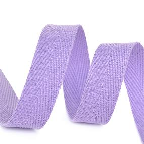 Лента киперная 10 мм хлопок 2.5 гр/см цвет F166 сиреневый фото