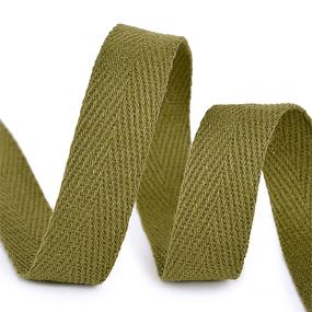 Лента киперная 10 мм хлопок 2.5 гр/см цвет F264 зеленый фото