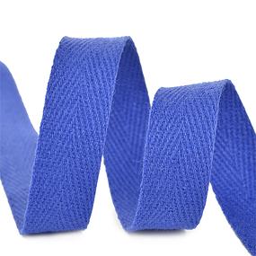 Лента киперная 15 мм хлопок 2.5 гр/см цвет F223 синий василек фото