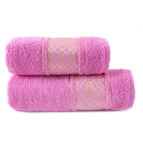 Полотенце махровое Bangle ПЛ-1801-02924 70/120 см цвет розовый фото