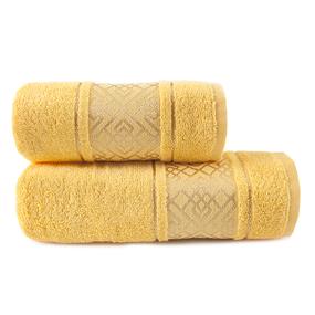 Полотенце махровое Bangle ПЛ-1801-02924 70/120 см цвет желтый фото