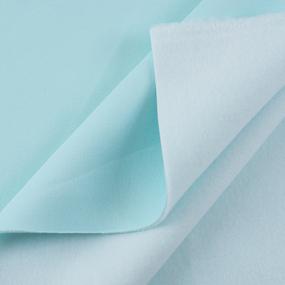 Маломеры футер 3-х нитка компакт пенье начес цвет ментол 1,5 м фото