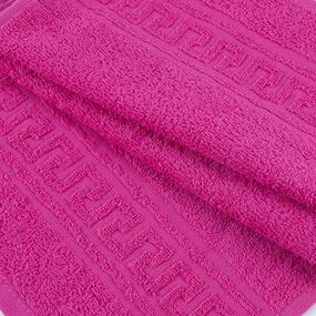 Полотенце махровое 30/50 см цвет 106 малина фото