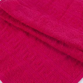 Полотенце махровое 30/50 см цвет 108 брусника фото