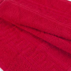 Полотенце махровое 30/50 см цвет 109 красный фото