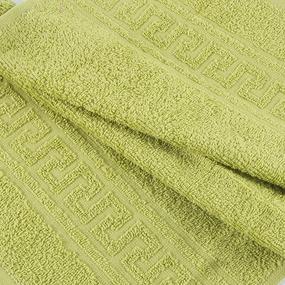 Полотенце махровое 30/50 см цвет 517 оливковый фото