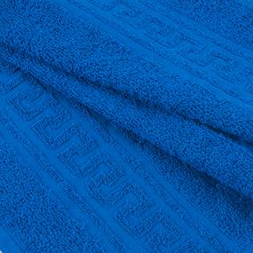 Полотенце махровое 30/50 см цвет 706 ярко-синий фото