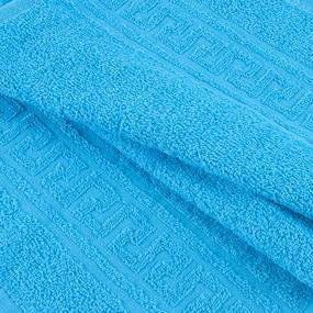 Полотенце махровое 30/50 см цвет 720 бирюза фото