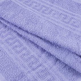 Полотенце махровое 30/50 см цвет 805 насыщ.сирень фото