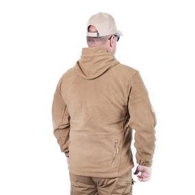 Куртка Флис с капюшоном цвет койот размер XL фото
