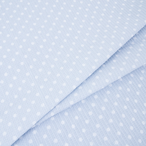 Полотенце вафельное банное 150/75 см 1171/4 Горох серый фото