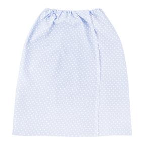 Вафельная накидка на резинке для бани и сауны женская 1171/4 цвет серый фото