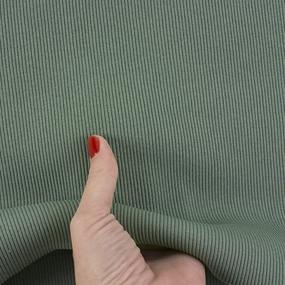 Ткань на отрез кашкорсе с лайкрой 2208-1 цвет светло-зеленый фото