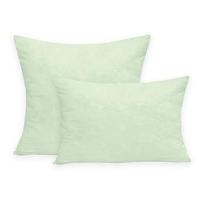 Подушка ПЭФ микрофибра стеганая цвет салатовый 70/70 фото