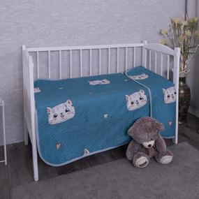 Покрывало детское ультрастеп двухстороннее 037(A)-AC 105/150 фото