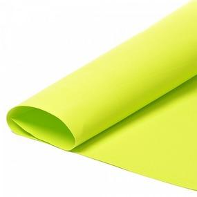 Набор листового фоамирана 030/1 (119) цв.желто-зеленый 1 мм уп.50 листов 30х35 см фото