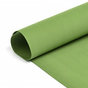 Набор листового фоамирана 038/1 (120) цв.темно-зеленый 1 мм уп.50 листов 30х35 см фото