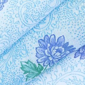 Ткань на отрез ситец белоземельный 80 см 9331 фото